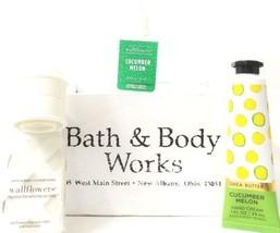 Bath & Body Works Cucumber Melon Fragrance Refill, Hand Cream, Wallflowe... - £16.52 GBP