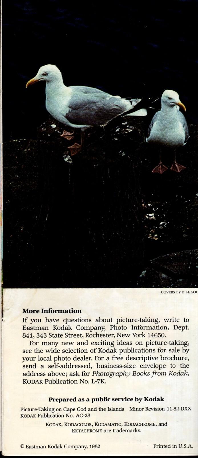 Cape Cod, Massachusetts - Souvenir 6  Booklets image 3