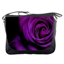 Messenger Bag Beautiful Flower Purple Rose Garden Hot Nature Editions Game Anim - $30.00