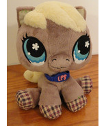 LPS Big Eye Horse Plush Only Littlest Pet Shop Pony Lovey stuffed animal - $9.88