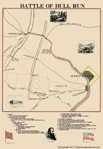 Civil War - Bull Run Battle - 1898 - 23.00 x 33.19 - $36.58+