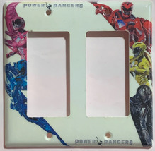 Power rangers Light Switch Outlet Toggle Rocker Wall Cover Plate Home decor image 2