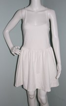 "NWOT Womens Guess White ""Monaco"" Strappy Lace Up Back Fit & Flare Dress ... - $29.69"