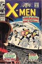 X-Men Comic Book #37, Marvel Comics 1967 VERY FINE- - $57.97