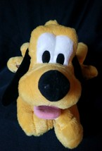 "Disney Store Authentic Dog Pluto Stuffed Animal Plush 15"" Soft Gift EUC - $15.99"