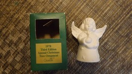 20#L   1978 Goebel Angel Bell Annual Christmas Tree Ornament In Original... - $9.89