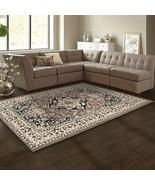 Superior Glendale Collection  Brown Oriental Design 4' x 6' Area Rug  - $47.95