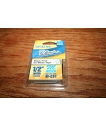 Genuine Brother P-Touch M Tape M-231 Black Print White Tape New - $9.50