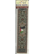 Bookmark Holy Land Jordan Souvenir Fabric Book ... - $6.93