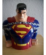 1997 Warner Bros. DC Comics Superman Cookie Jar - $100.00