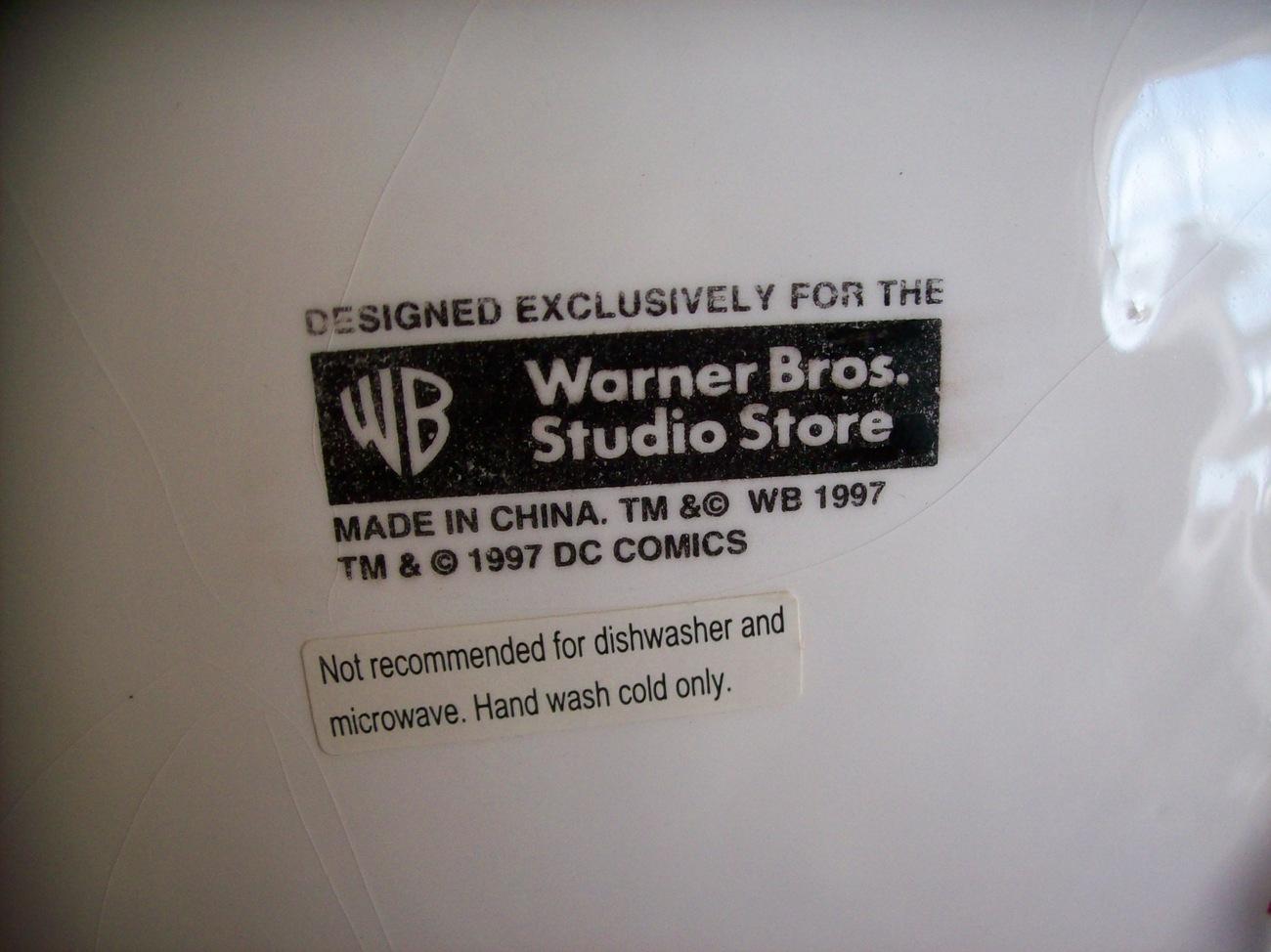 1997 Warner Bros. DC Comics Superman Cookie Jar