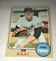 Jim Kaat 1968 Topps 450 - $2.99