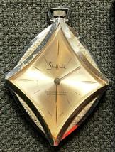Vintage Sheffield Diamond Shaped Swiss Made Watch - Functional - $11.34