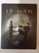IP Man Trilogy: Limited Edition Steelbook Boxset [Blu-Ray] image 1