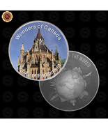WR Wonders of Canada Library of Parliament New Design Silver Commemorati... - $7.41