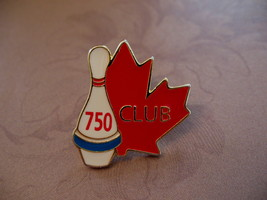 Bowling 750 Club Souvenir Lapel Hat Pin - $5.99