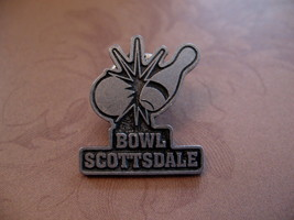 Bowling Scottsdale Arizona Souvenir Lapel Hat Pin - $5.99