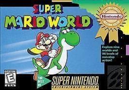 Super Mario World (Super Nintendo Entertainment System, 1992) - $13.85