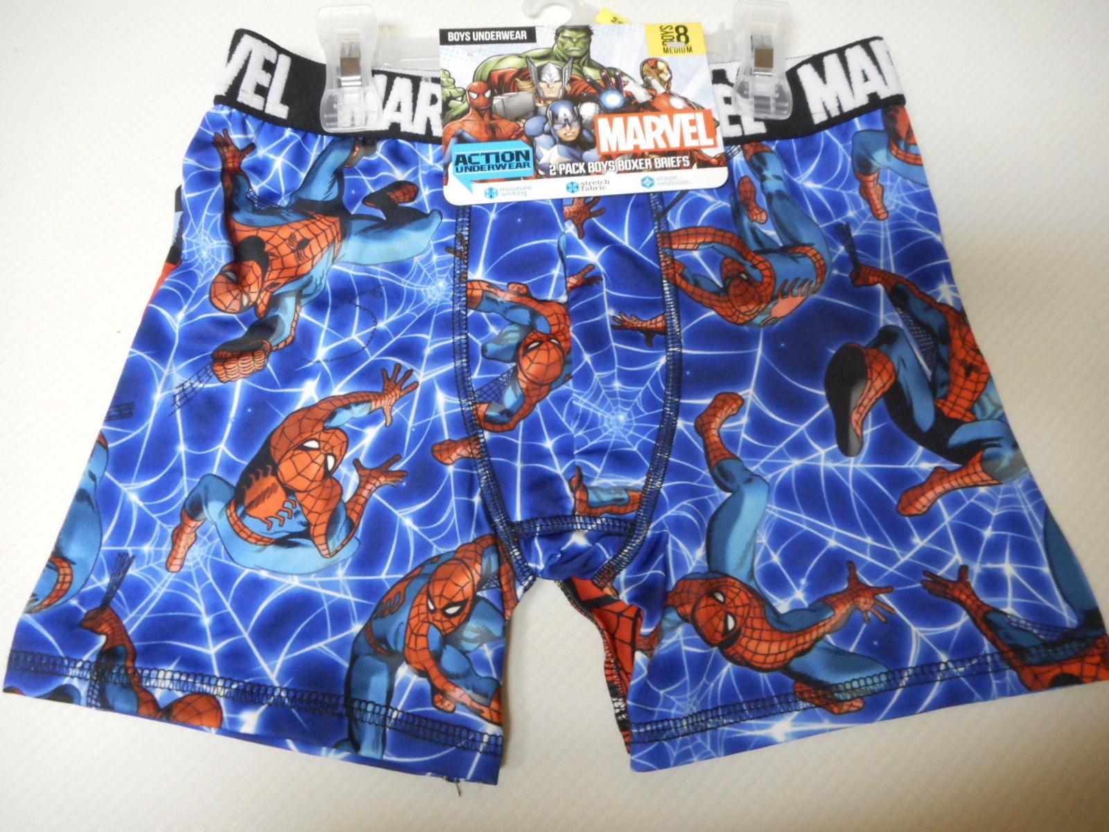 TMNT Boys Boxer Briefs 2 Pack Size Medium 8 Moisture Wicking NEW