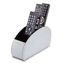 Sonorous Luxury Leather Remote Control Holder with 5 Compartments - Medi... - $29.88