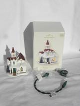 2008 Hallmark Candlelight Services Countryside Church Lighted Christmas ... - $14.99