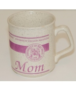 "Univ of Wisconsin Whitewater ""Mom"" Coffee Mug. Made in England - $5.39"