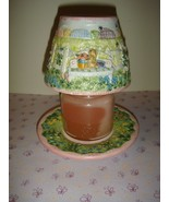 Yankee Candle Small Candle & Shade & Plate Easter, Spring, Floral & Bees... - $28.99