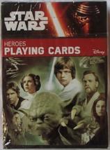 Star Wars Heroes Playing Cards Cartamundi Brand New NISW Collectible Dec... - $7.99