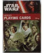 Star Wars Heroes Playing Cards Cartamundi Brand New NISW Collectible Deck Cards - $11.86 CAD