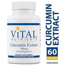 Vital Nutrients - Curcumin Extract 700 mg (with Bioperine) - Nutritional... - $56.27