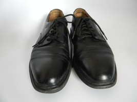 DresSports Rockport Mens Black Leather Upper Oxford Shoes Size 9M - $20.99