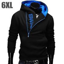 6XL Fashion Brand Hoodies Men Sweatshirt Male Zipper Hooded Jacket Casua... - $22.58+