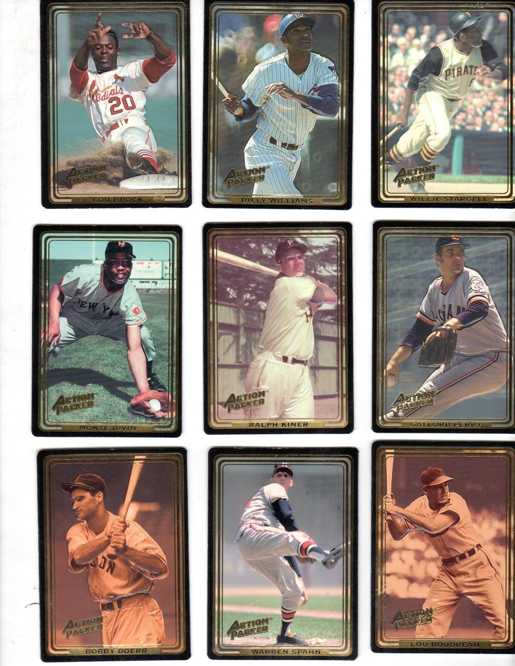The Ultimate Allstars Baseball Cards (AMOCO & CocaCola)