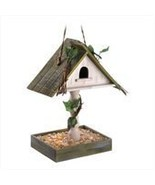 Birdhouse with Bird Seed Feeder Tray - $25.00