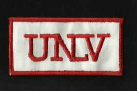 Vintage UNLV College University NCAA Sports Patch New Old Stock TARK REBELS - $7.60