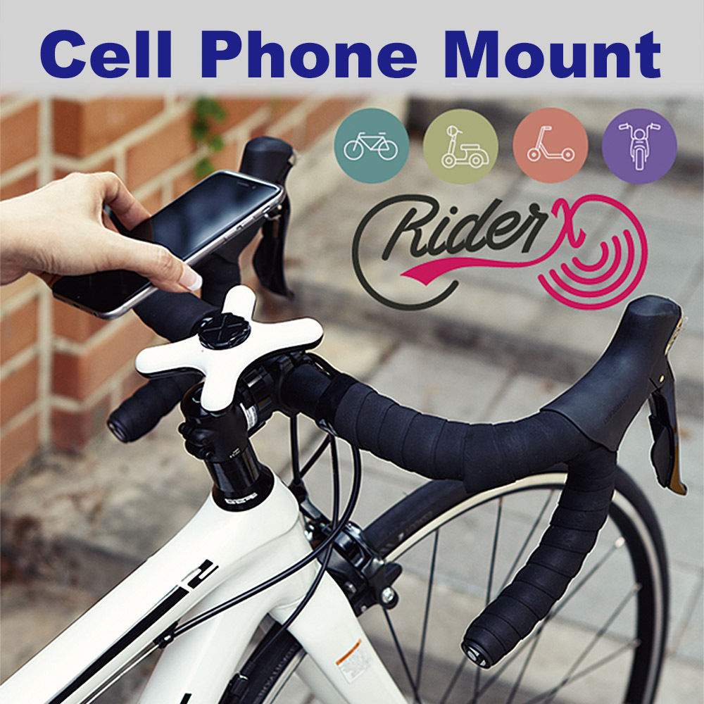 Motorcycle Bicycle Bike Handlebar Mount Cradle Holder For Cell Phone