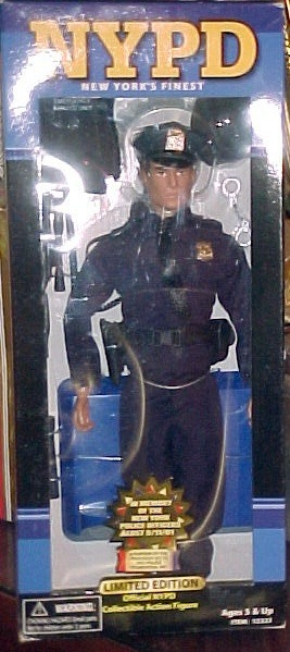 NYPD New York's Finest  Action Figure Limited 911 Edition