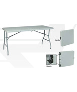 6 Ft Indoor Outdoor Multi Purpose Folding Table... - $98.00