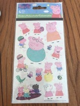 Peppa Pig Stickers (4 Sheets) - Party Supplies - $7.90