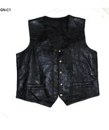 Gn c1 navarri leather vest sz x large thumbtall