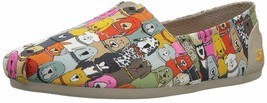 Skechers BOBS Dog Wag Slip-On Shoes -Party Multi Color 10 W - $35.63