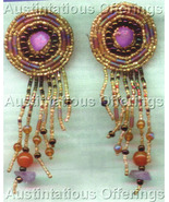 Bronzed Southwest Earring Set Card Beading Kit Ann Benson - $29.99