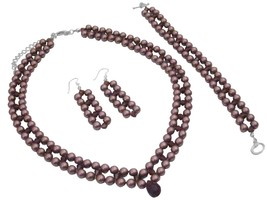 Find Burgundy Jewelry At Fashion Jewelry For Everyone Collection - $112.20