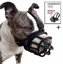 Pettycart Dog Muzzle, Soft Basket Muzzle for Medium Large Dogs, Best to ... - $22.36