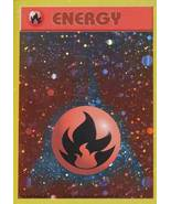 Fire Energy Holo Rare Pokemon Promo Cards Pokemon - $3.39