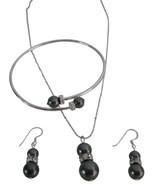 Incredible Wholesale Wedding Swarovski Dark Grey Jewelry - $27.68