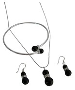 Artisan Crafted in Mystic Pearls Hot Jewelry Necklace Earrings - $27.68
