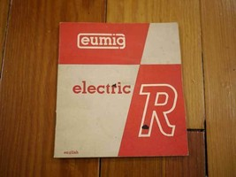 Vintage 40s 50s Eumig Electric R 8mm Film Camera Manual Booklet Guide Pa... - $11.99