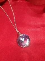 ~Sterling Silver~925~Necklace~W/Swarovski Crystal Pendant - $79.20