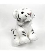 Plush Baby White Tiger Toy Stuffed Animal - $13.95